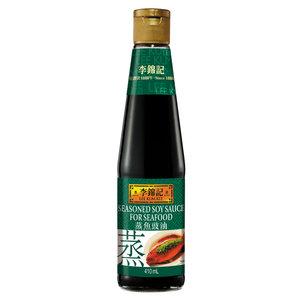 Lee Kum Kee Gekruide sojasaus voor zeevruchten, 410 ml