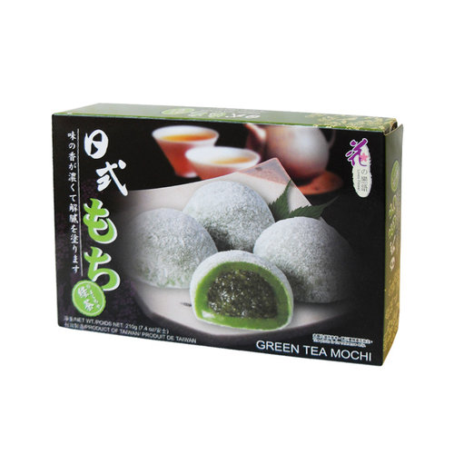 Loves Flower Green Tea Mochi, 210g