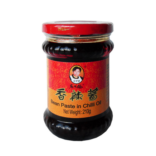 Lao Gan Ma Bean Paste in Chilli Oil, 210g