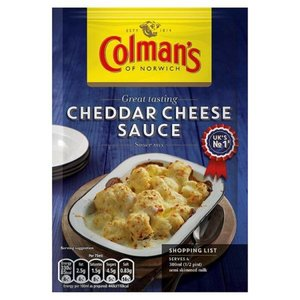 Colman's Cheddar Cheese Sauce, 40g