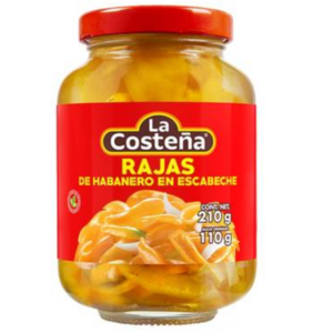 La Costena Sliced Habanero, 210g