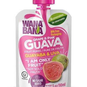 Wanabana Guava Grape Puree, 90g