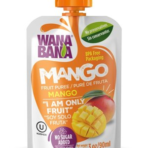 Wanabana Mango Fruit Puree, 90g
