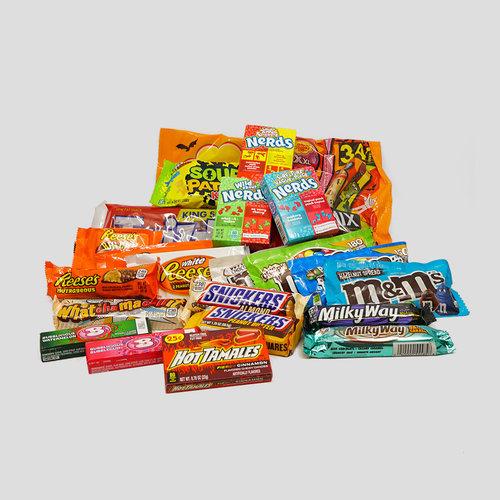 Populaire Amerikaanse chocolade en snoep.