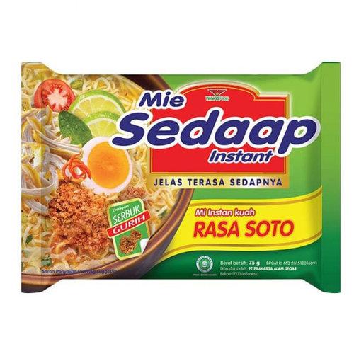 Mie Sedaap Instant Rasa Soto, 75g