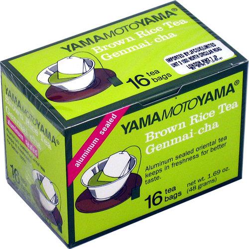 YMY Genmaicha tea bags, 16x3g