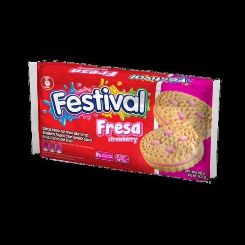 Noel Festival Strawberry Cookies, 403g