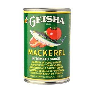 Geisha Brand Mackarel in tomatensaus, 425g