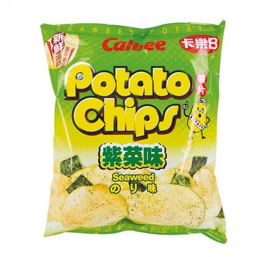 Calbee Potato Chips Seaweed, 55g