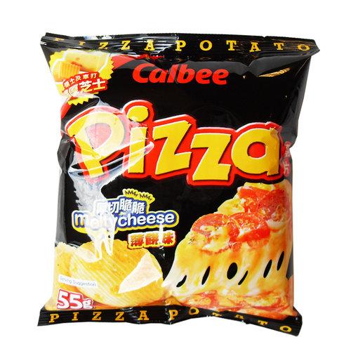 Calbee Potato Chips Pizza, 55g