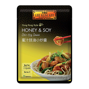 Lee Kum Kee Honey & Soy Stir Fry Sauce, 70g