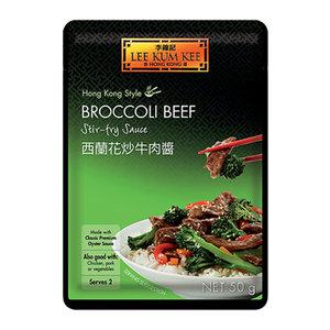 Lee Kum Kee Broccoli Rund Roerbaksaus, 50g