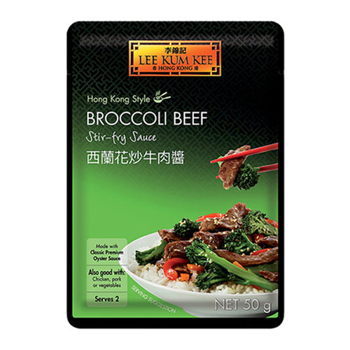 Lee Kum Kee Broccoli Beef Stir Fry Sauce, 50g