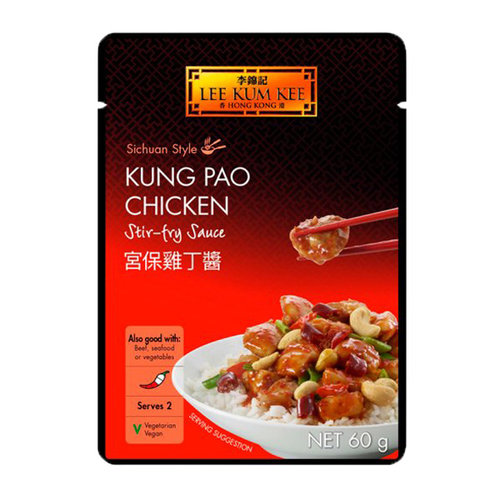 Lee Kum Kee Kung Pao Chicken Stir Fry Sauce, 60g