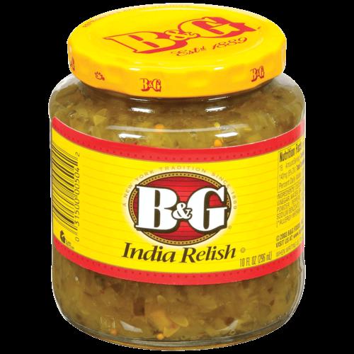 B&G India Relish, 296ml