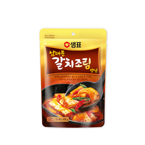 Sempio Spicy Seafood Simmer Sauce, 200g