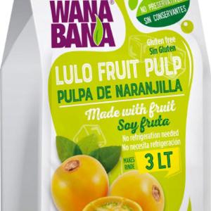 Wanabana Lulo fruitpulp, 500g
