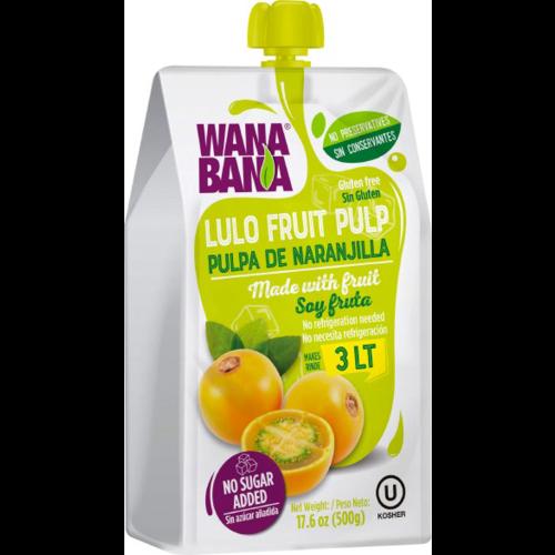 Wanabana Lulo Fruit Pulp, 500g