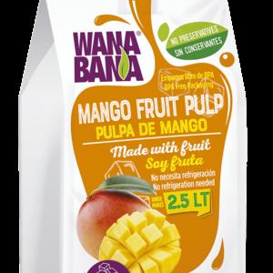 Wanabana Mango Fruit Pulp, 500g