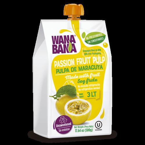 Wanabana Passionfruit Fruit Pulp, 500g