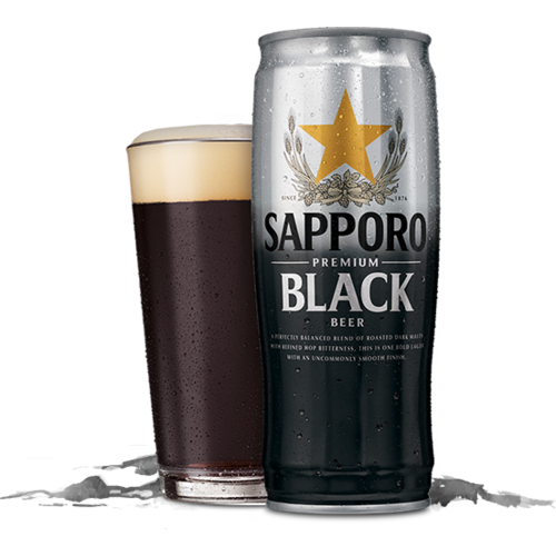 Sapporro Sapporo Premium Black Beer, 650ml