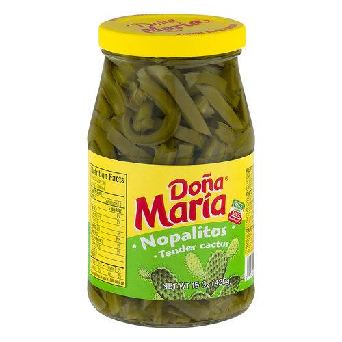 Dona Maria Tender Cactus Nopalitos, 425g