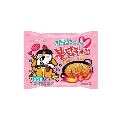 Samyang Carbo Hot Chicken Flavour Ramen, 130g