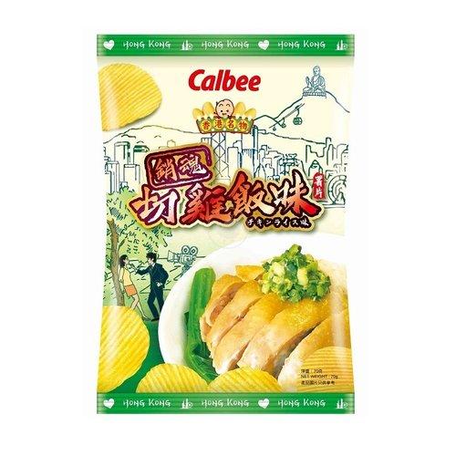 Calbee Potato Crisps Chicken Rice Flavor, 70g