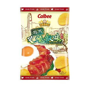 Calbee Potato Crisp Char Siu Rice Flavor, 70g