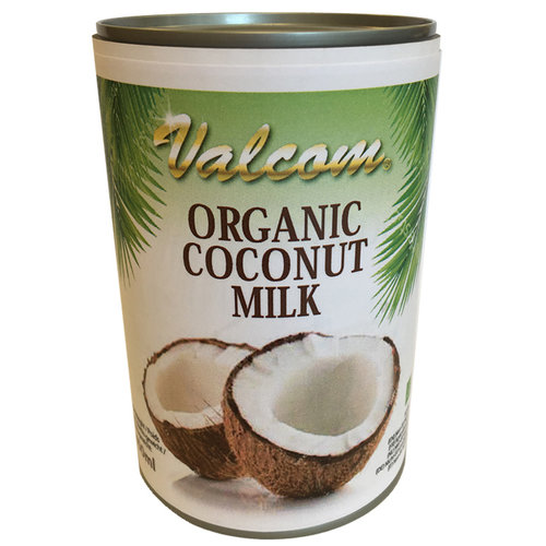 Valcom Valcom Organic Coconut Milk, 400ml