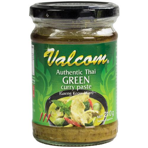 Valcom Valcom Groene Curry Pasta, 210g