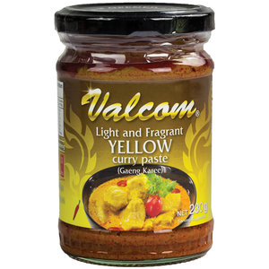 Valcom Valcom Gele Currypasta, 210g