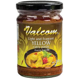 Valcom Valcom Yellow Curry Paste, 210g