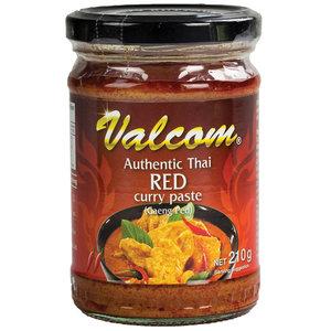 Valcom Valcom Rode Curry Pasta, 210g