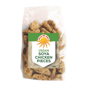 Valle Del Sole Vegan Soya Chicken Pieces, 150g