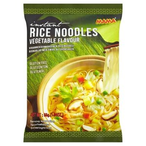 MAMA Instant Rice Noodles Vegetable Flavour, 55g