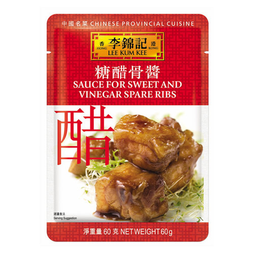 Lee Kum Kee Sauce For Sweet And Vinegar Spare Ribs, 60g