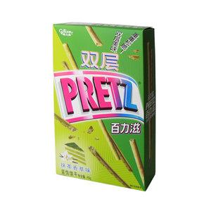 Glico Double Pretz Matcha Vanilla, 45g