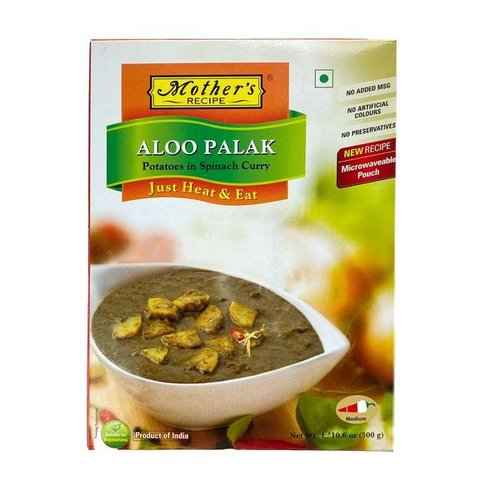Mother's Recipe Mother's Recipe Aloo Palak, 300g