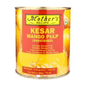 Mother's Recipe Kesar Mango Pulp, 850g