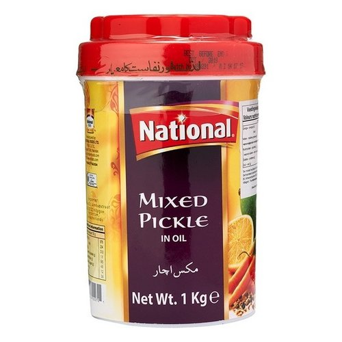 National Mixed Pickle in Oil, 1kg