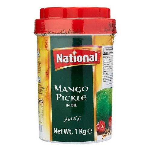 National Mango Pickle in Oil, 1kg