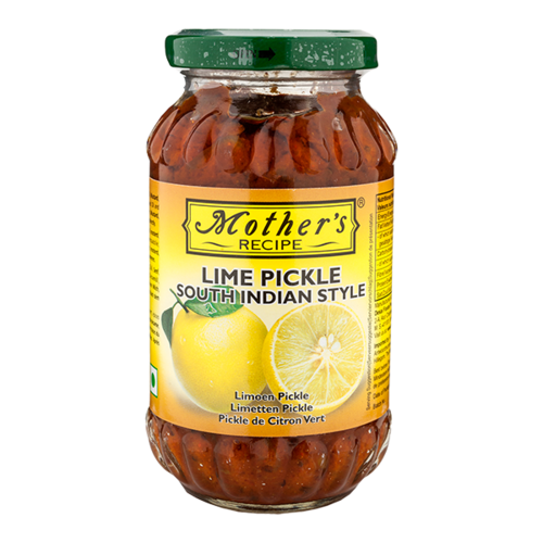 Mother's Recipe Lime Pickle South Indian Style, 300g