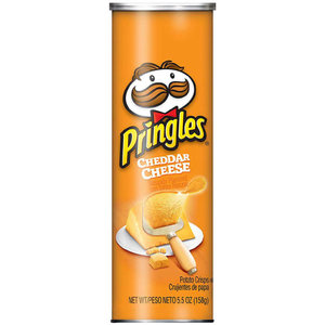 Pringles Cheddar Cheese, 158g