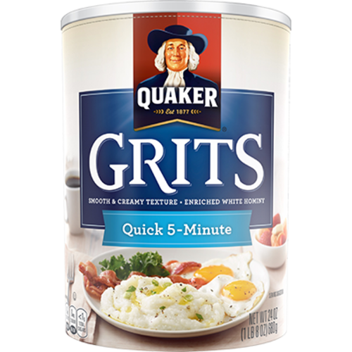 Quaker Quick 5 Minute Grits, 680g