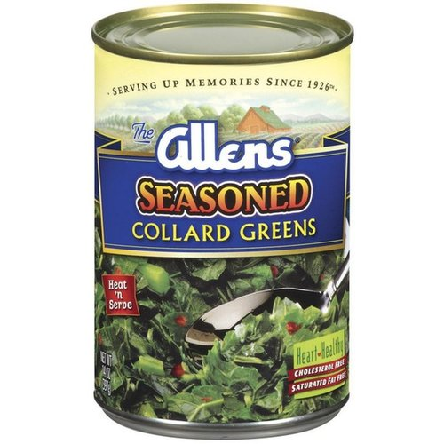 Allens Allens Seasoned Collard Greens, 411g