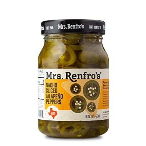 Mrs. Renfro's Mrs. Renfro's Nacho Sliced Jalapeno Peppers, 473ml