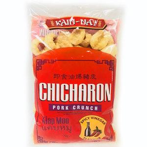 Kain-Na! Chicharon Spicy Vinegar Flavour, 70g
