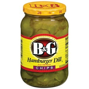 B&G B&G Hamburger Dill Chips, 473ml