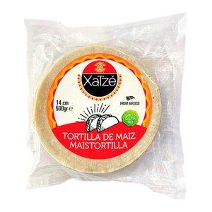Xatze Corn tortillas 14cm, 500g